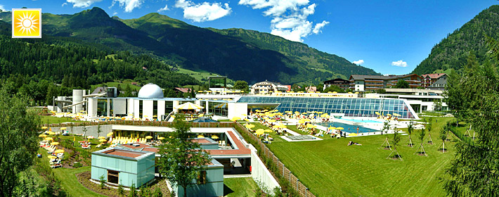 Alpentherme Bad Gastein Salzburg Kur Thermenurlaub