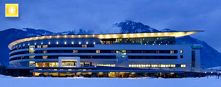 Therme Kaprun Tauern Spa Woerld Resort bei Zell am See Salzburg